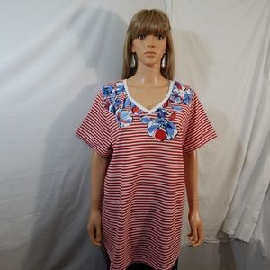 NWOT NEW Woman Within Size 22/24 1X Top Shirt